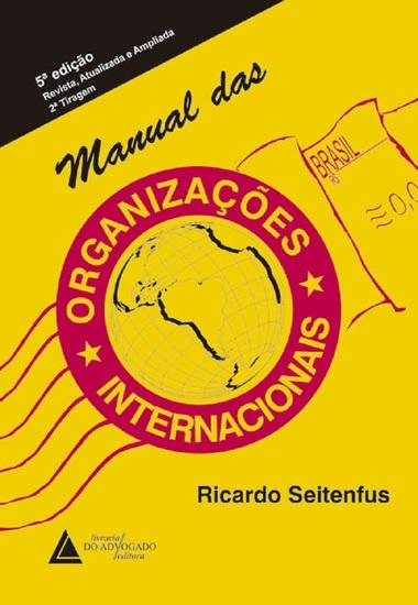 Manual das Organizações Internacionais - cover