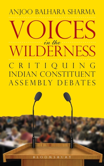 Voices in the Wilderness - Critiquing Indian Constituent Assembly Debates - cover