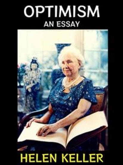 Optimism - An Essay - cover