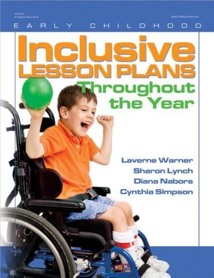 Inclusive Lesson Plans Throughout the Year - cover