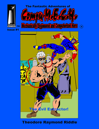 The Fantastic Adventures of Compu-MECH - The Evil Extractor - cover