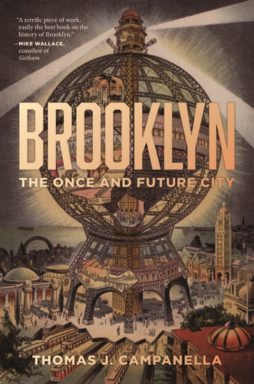 Brooklyn - The Once and Future City - cover