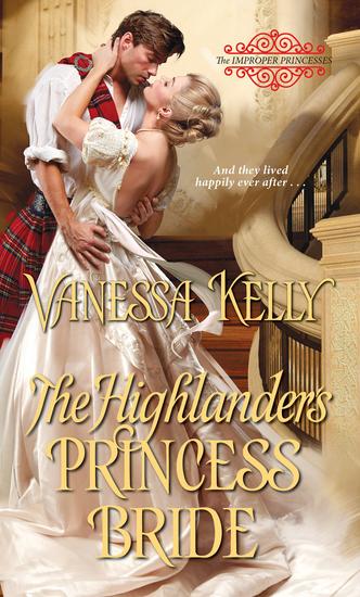 The Highlander's Princess Bride - cover