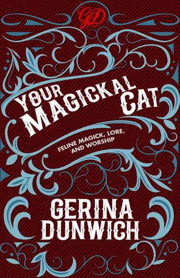 Your Magickal Cat - Feline Magick Lore and Worship - cover