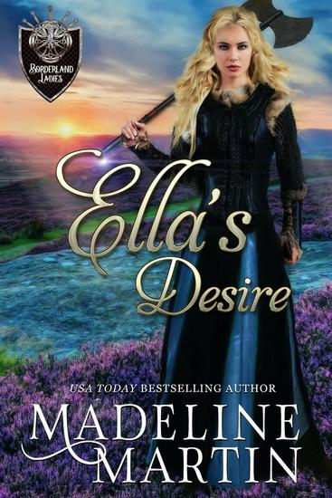 Ella's Desire - Borderland Ladies #4 - cover
