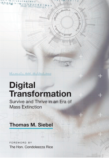 Digital Transformation - Survive and Thrive in an Era of Mass Extinction - cover
