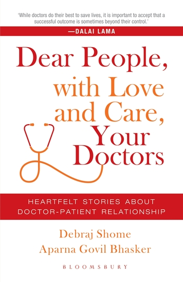Dear People with Love and Care Your Doctors - Heartfelt Stories about Doctor-Patient Relationship - cover