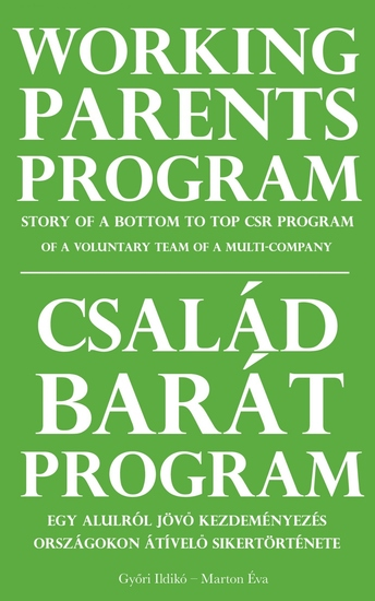Working Parents Program - Story of a bottom to top CSR program of a voluntary team of a multi-company - cover