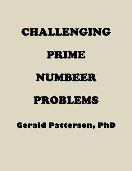 Challenging Prime Number Problems - cover