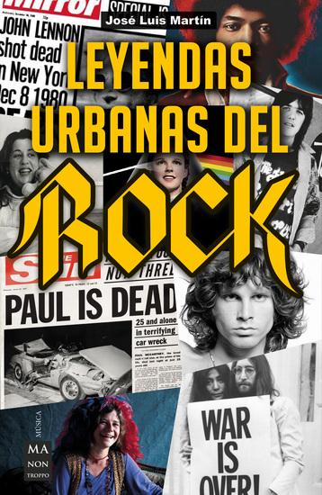 Leyendas urbanas del rock - cover
