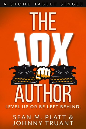 The 10X Author - Level Up or Be Left Behind - cover