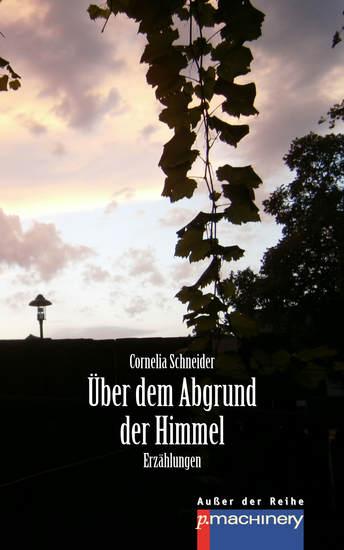 ÜBER DEM ABGRUND DER HIMMEL - Erzählungen - cover