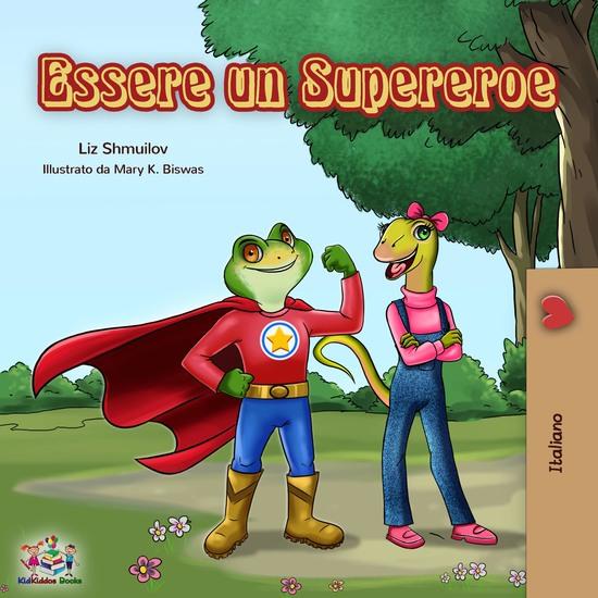 Essere un Supereroe - cover