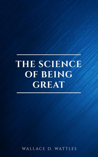 The Science of Being Great - cover
