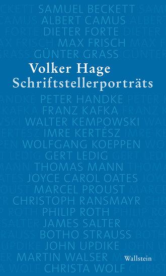 Schriftstellerporträts - cover