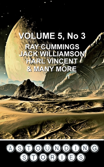 Astounding Stories March 1931 - Volume 5 No 3 March 1931 - cover