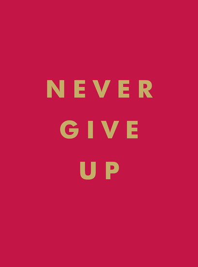 Never Give Up - Inspirational Quotes for Instant Motivation - cover