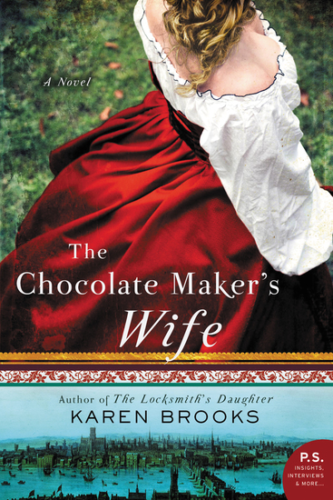 The Chocolate Maker's Wife - A Novel - cover