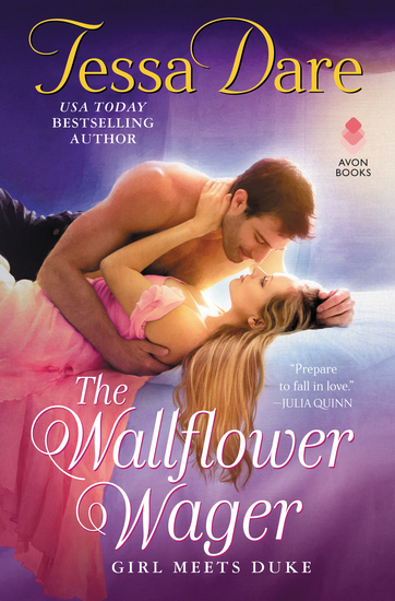 The Wallflower Wager - Girl Meets Duke - cover