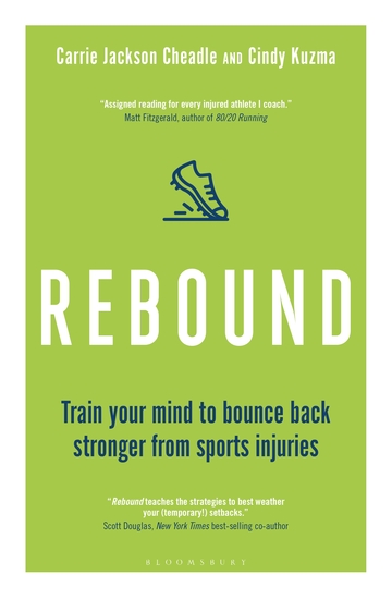 Rebound - Train Your Mind to Bounce Back Stronger from Sports Injuries - cover