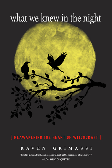 What We Knew in the Night - Reawakening the Heart of Witchcraft - cover