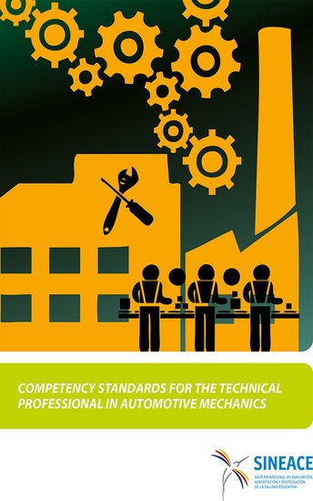 Competency standards for the technical professional in automotive mechanics - cover