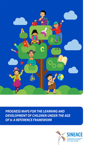 Progress maps for the learning and development of children under the age of 6 - A reference framework - cover