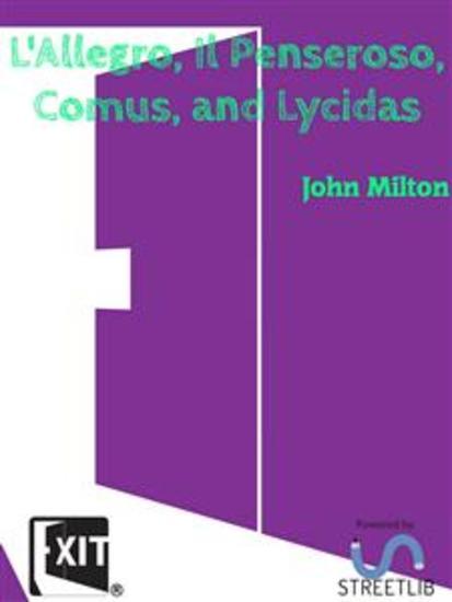 L'Allegro Il Penseroso Comus and Lycidas - cover
