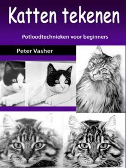 Katten tekenen - Potloodtechnieken voor beginners - cover