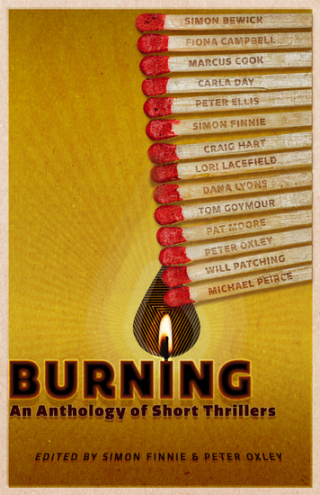 Burning - An Anthology of Short Thrillers - cover