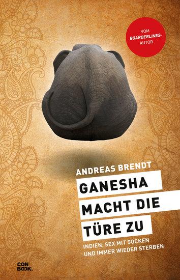 Ganesha macht die Türe zu - Indien Sex mit Socken und immer wieder sterben - cover