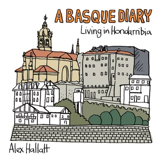 A Basque Diary - Living in Hondarribia - cover