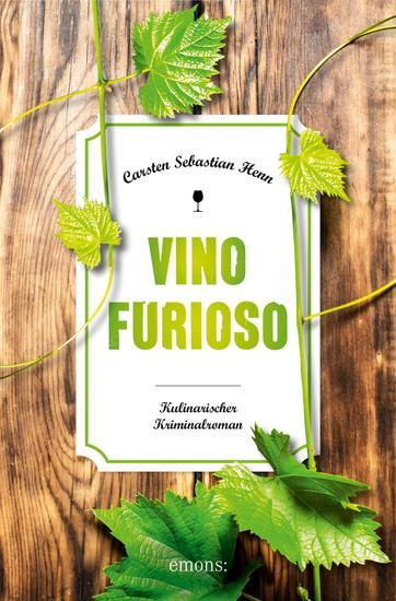 Vino Furioso - Kulinarischer Kriminalroman - cover