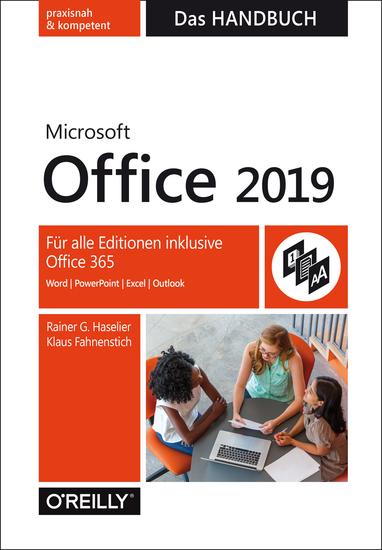 Microsoft Office 2019 – Das Handbuch - Für alle Editionen inklusive Office 365 - cover