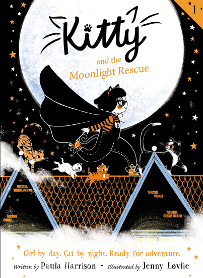 Kitty and the Moonlight Rescue - cover