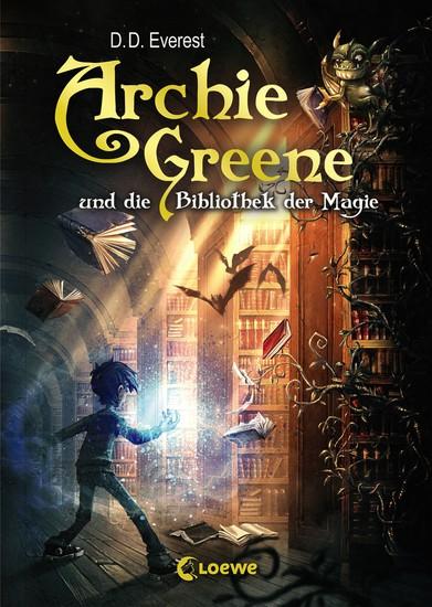 Archie Greene und die Bibliothek der Magie - cover