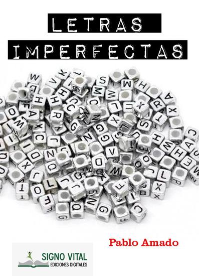 Letras imperfectas - cover