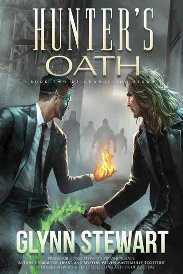 Hunter's Oath - Changeling Blood #2 - cover