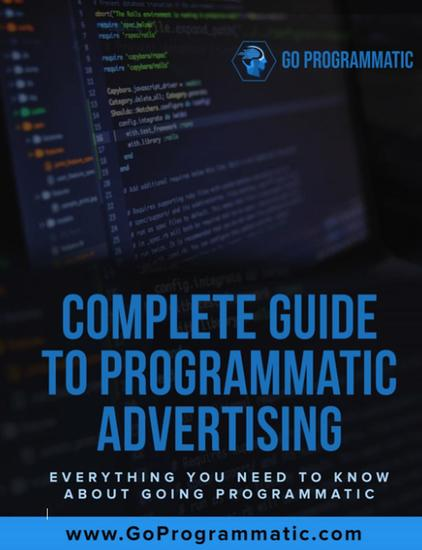 Complete Guide To Programmatic Advertising - cover