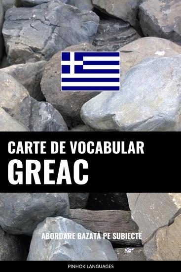 Carte de Vocabular Greac - Abordare Bazată pe Subiecte - cover