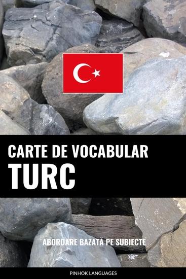 Carte de Vocabular Turc - Abordare Bazată pe Subiecte - cover