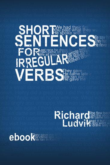 Short sentences for irregular verbs - cover