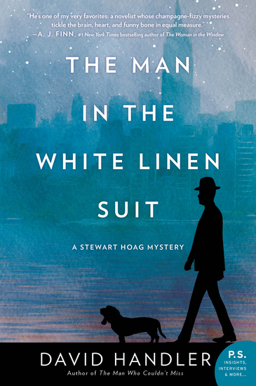 The Man in the White Linen Suit - A Stewart Hoag Mystery - cover