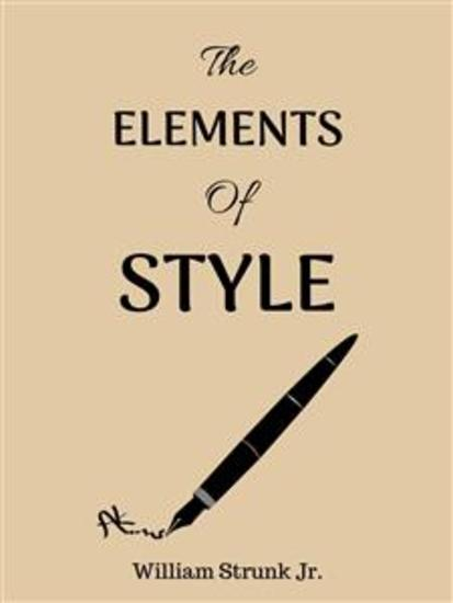 The Elements of Style - cover