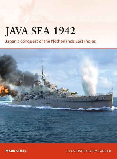 Java Sea 1942 - Japan's conquest of the Netherlands East Indies - cover