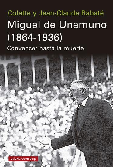 Miguel de Unamuno (1864-1936) - cover