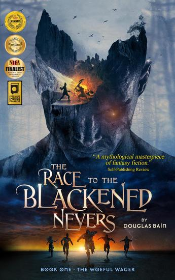 The Race to the Blackened Nevers Book 1 The Woeful Wager - The Race to the Blackened Nevers #1 - cover