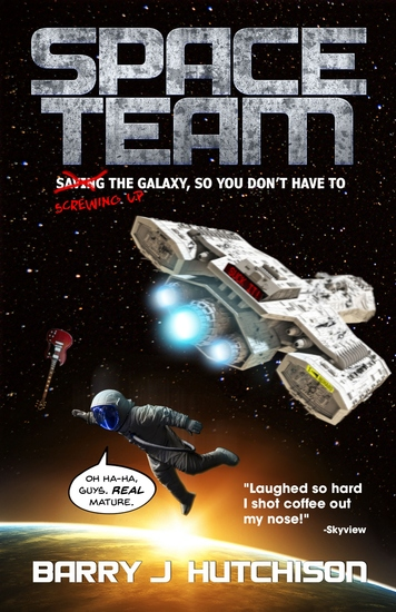 Space Team - cover
