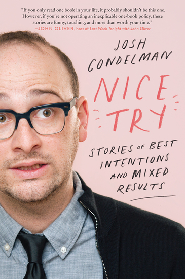 Nice Try - Stories of Best Intentions and Mixed Results - cover