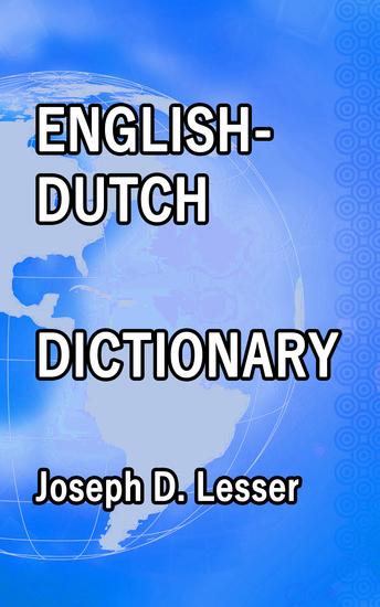 English Dutch Dictionary - cover